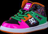 DC Shoes - Toddl. Rebound Se Ul Shoe Crazy Pink/Ocean