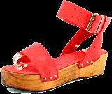 Minimarket - Plateau Buckles Sandal Leather Bright Pink