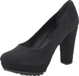 Gardenia - Shoe Plateau w Heavy Sole Black