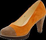 Norrback - Pia pumps Orange , brown