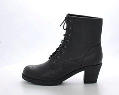 STHLM DG - Laced Boots Black