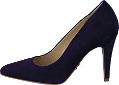 Supertrash - Pump Low Heel Dark Purple