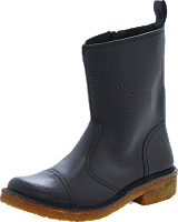 Swedish Hasbeens - Danish Boot Black/Nature