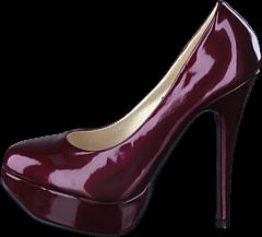 Sugarfree Shoes - Bowie Dark Red/Patent