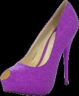 Sugarfree Shoes - Malina Purple