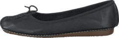 Clarks - Freckle Ice Black Leather