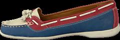 Sebago - Felucca Blue/red/ivory
