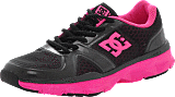 DC Shoes - W´s Unilte Trainer Black/Fluorecent pink