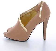 Sugarfree Shoes - Bella Nude