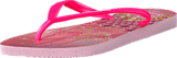 Havaianas - Kids Slim Princess Crystal Rose/Shocking Pink