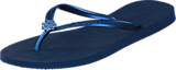 Havaianas - Slim Crystal Poem Navy Blue