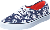 Vans - Authentic (Washed Kelp) Navy/White