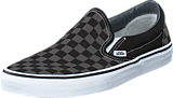 Vans - Classic Slip-On (Checkerboard) Black/Pewter