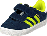 adidas Originals - Gazelle 2 Cf I Navy/Yellow/White