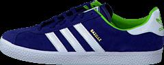 adidas Originals - Gazelle 2 J Dark Blue/Ftwr White/Gold Met.