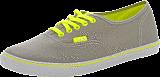Vans - U Authentic Lo Pro Neon Grey/Yellow