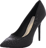Sugarfree Shoes - Sally Black Glitter