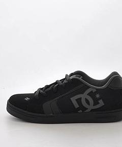 DC Shoes - Kids Net Black/Black/Black