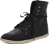 Hub Footwear - Chess Leather/Lumberjack Black