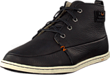 Hub Footwear - Subway Leather/Wool Black