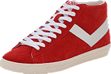 Pony - TOPSTAR SUEDE HI Red