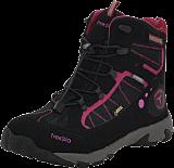 Treksta - Cape Lace GTX Mid Black/pink