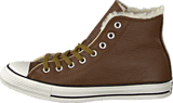 Converse - All Star Leather Shearling Hi Chocolate