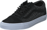 Vans - Old Skool (Suede Checkers) black