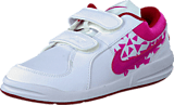 Nike - Pico 4 (Psv) White/Vivid Pink-Gym Red