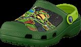 Crocs - CC TMNT Clog Seaweed/Volt Green