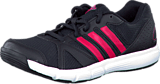 adidas Sport Performance - Essential Star II Black/Vivid Berry/Vivid Berry