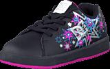 DC Shoes - Toddler Phos Shoe Black/Metallic Silver/Pink