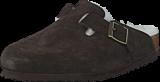 Birkenstock - Boston Regular Mocca Brown Fur