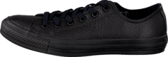 Converse - Chuck Taylor All Star Ox Leather Black Monochrome