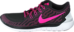 Nike - Wmns Nike Free 5.0 Black/Pink Pow-Pnk Fl-Pnk Glw