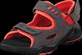 Ecco - Biom Sandal Warm Grey/ Coral Blush