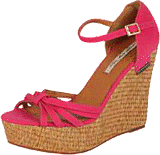 Pepe Jeans - Cotton Fabric Raffia Hi Wedge