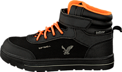 Gulliver - 430-4986 Boots Waterproof Black/Orange