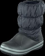Crocs - Winter Puff Boot Kids Black-Charcoal
