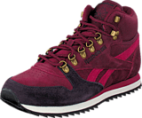 Reebok Classic - Cl Lthr Mid Ww Wine/Nght Violet/Pnk