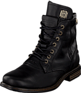 Sneaky Steve - H1413 Kingdom Black Leather
