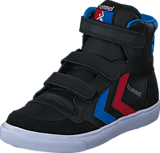 Hummel - Stadil Jr Leather High Black/Blue/Red/Gum