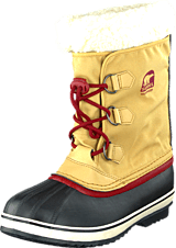 Sorel - Yoot Pac Nylon Curry, Red Dahlia