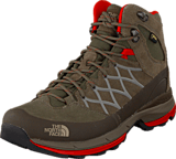 The North Face - W Wreck Mid GTX Brown