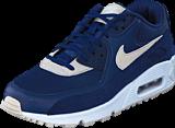 Nike - Wmns Air Max 90 Binary Blue/Oatmeal-White-Mtlc