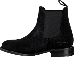 PrimeBoots - Ascot Maidenshead Low Black elastic
