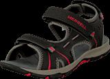 Merrell - Panther Sandal Black/Red