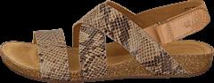 Clarks - Perri Dunes Taupe Snake