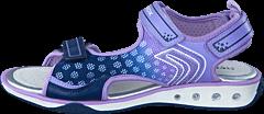 Geox - Jr Sandal Jocker Navy/Lilac