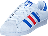 adidas Originals - Superstar Ftwr White/Blue/Red
